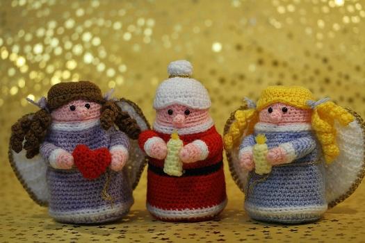 Ü-Engel & Ü-Oma & Ü-Weihnachtsfrau