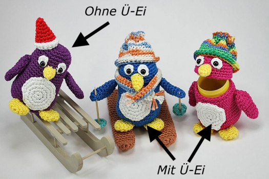Ü-Pet Pinguin Pauli
