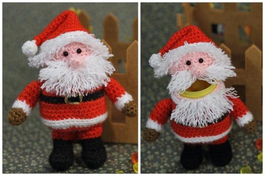 Crochet Pattern Ü-Santa Claus
