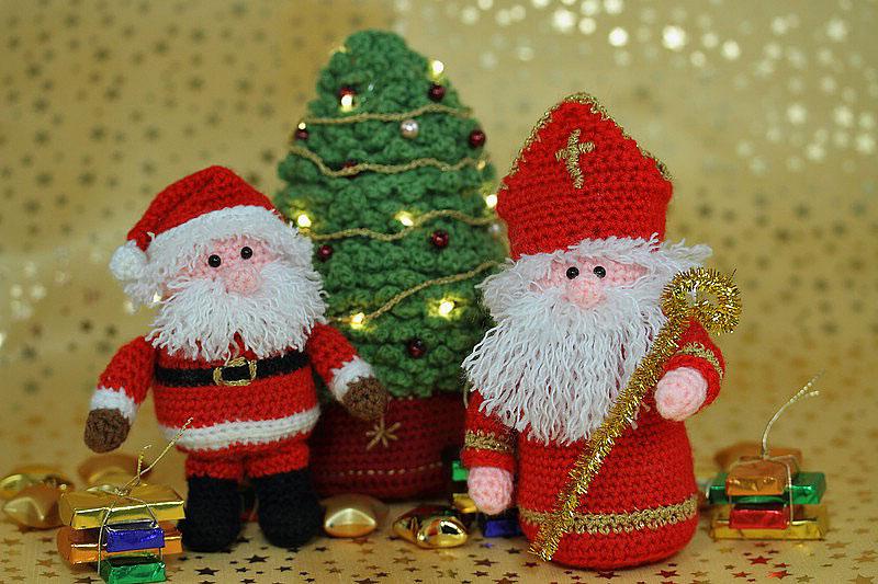 Häkeln mit RolisWollis › Amigurumi Weihnachtsmann | 533x800