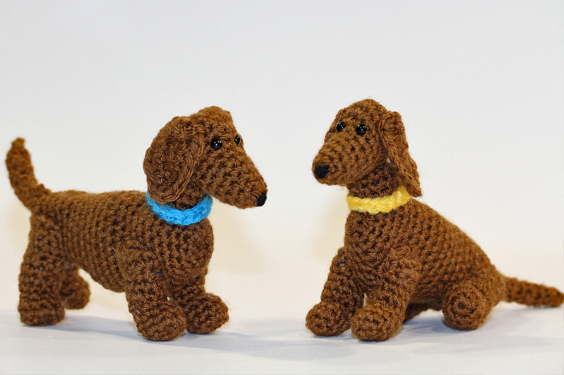 Hund häkeln--Welpe häkeln--Amigurumi//Deko DIY | 533x800